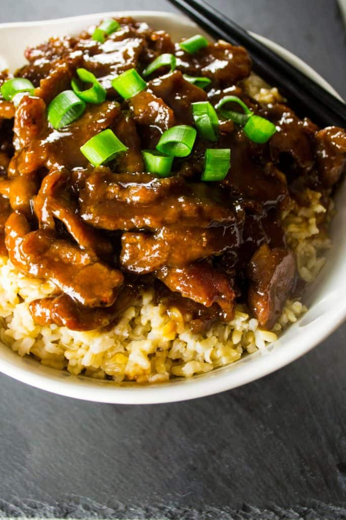 Mongolian Beef PF Chang Style - Pack Momma