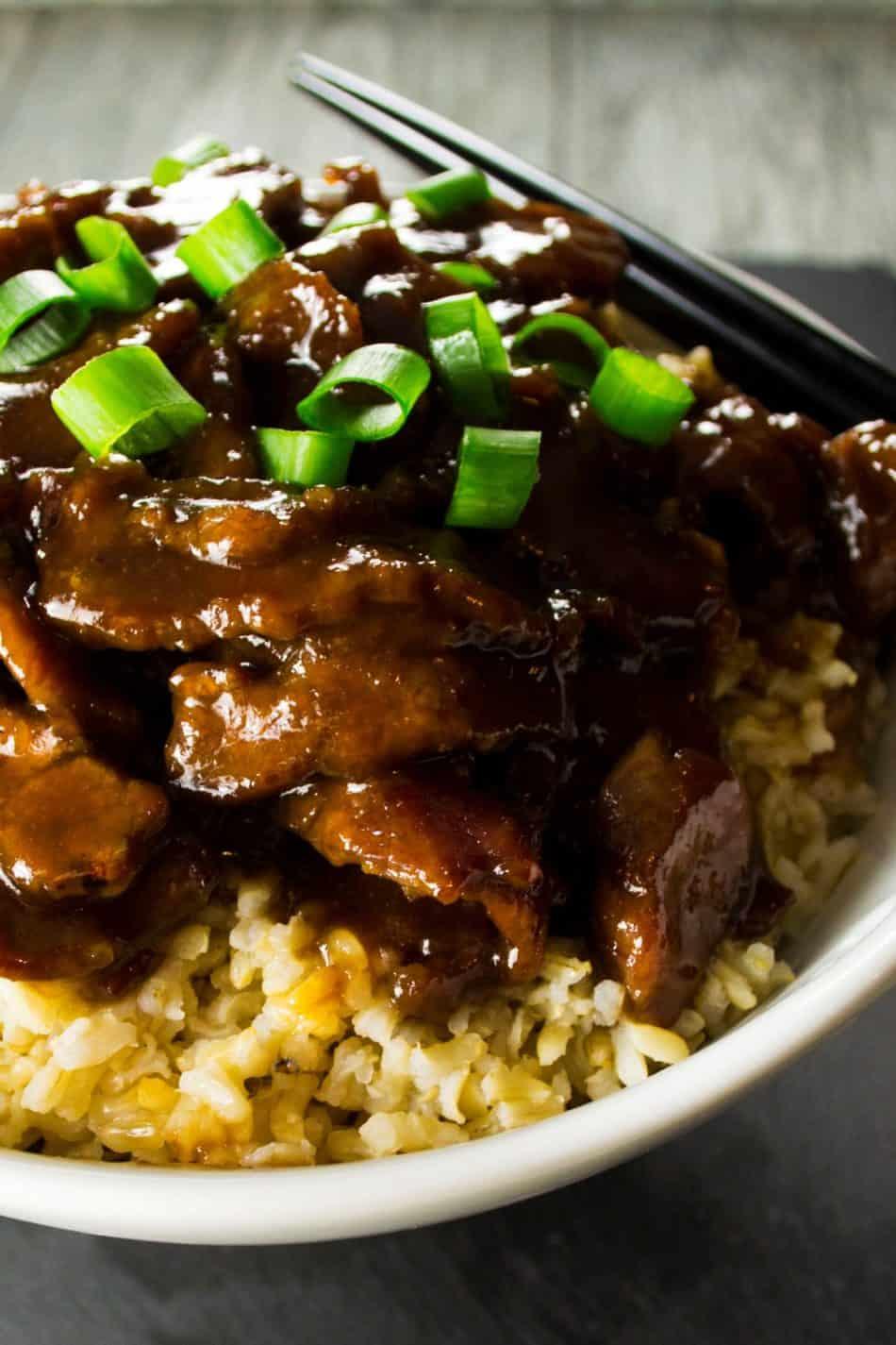 Mongolian Beef – PF Chang-style