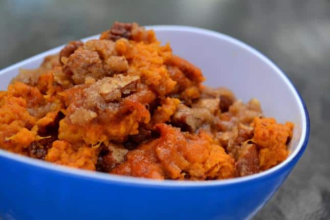 Sweet Potato Casserole with Chipotle