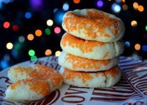 Soft Baked Orange Sugar Cookies
