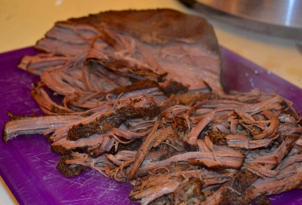 Slow Cooker Coffee Rubbed Beef Brisket