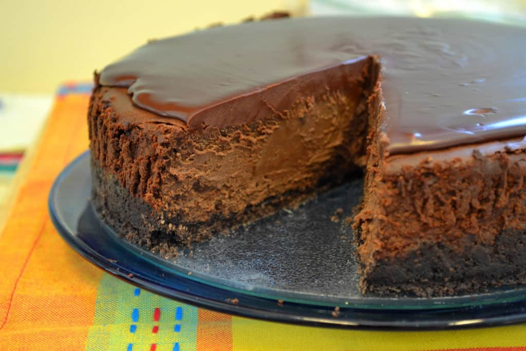 Triple Chocolate Mocha Cheesecake