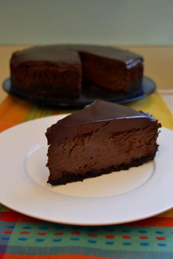 Triple Chocolate Mocha Cheesecake