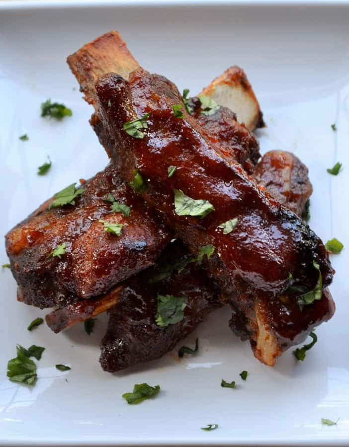 Spicy Asian BBQ Ribs - Pack Momma
