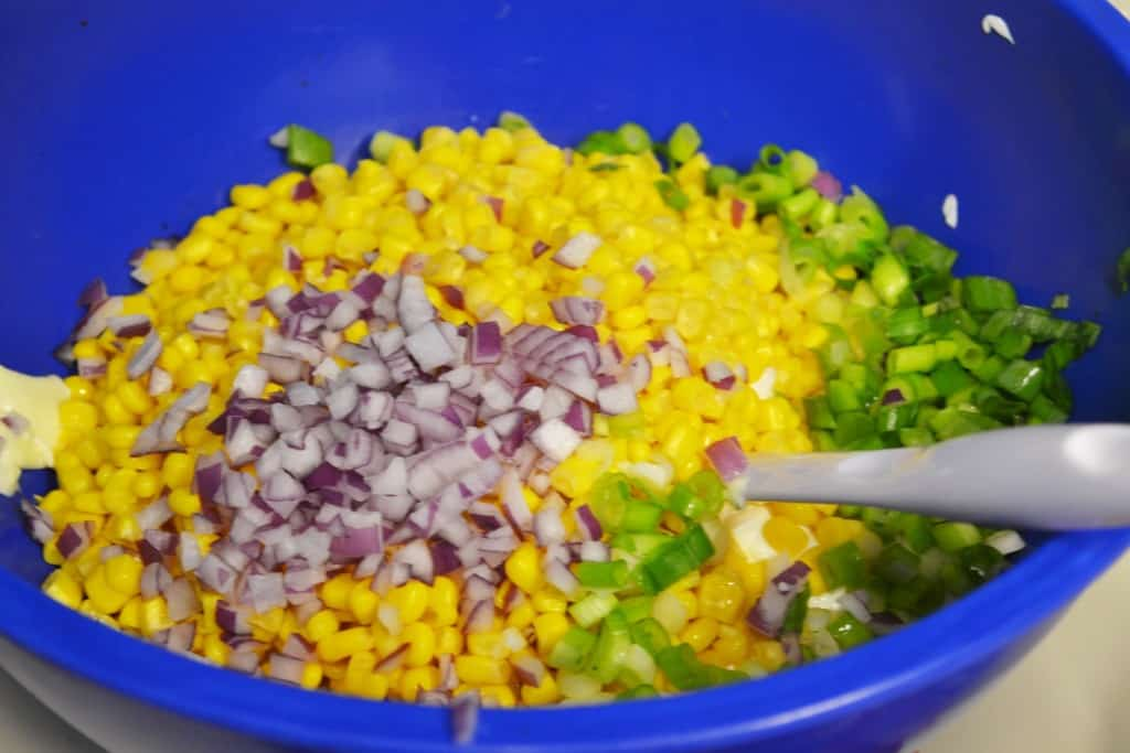 Spicy Bacon Corn Dip