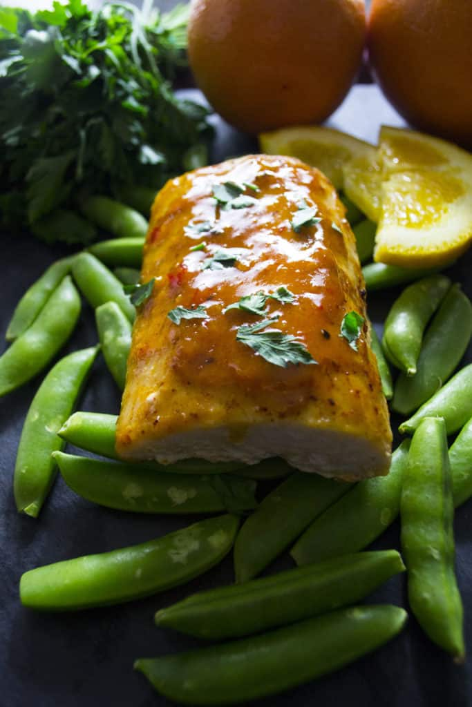 Baked Mahi Mahi with Citrus Glaze - Pack Momma