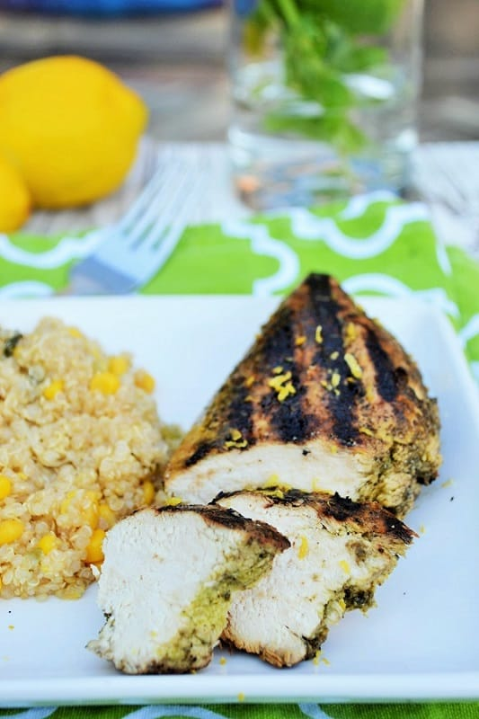 Lemon Basil Chicken