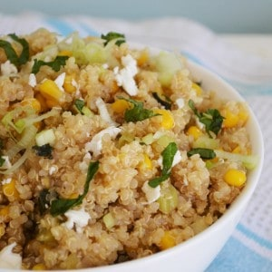 Lemon Mint Quinoa Salad