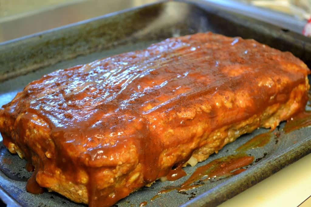 Spicy BBQ Turkey Meatloaf
