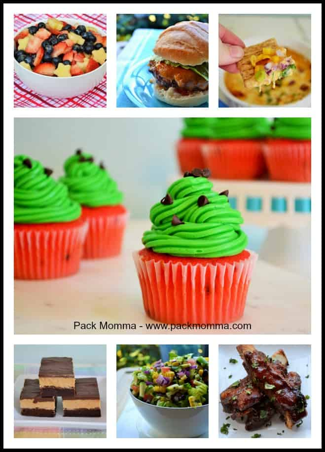 Pack Momma Memorial Day Recipes