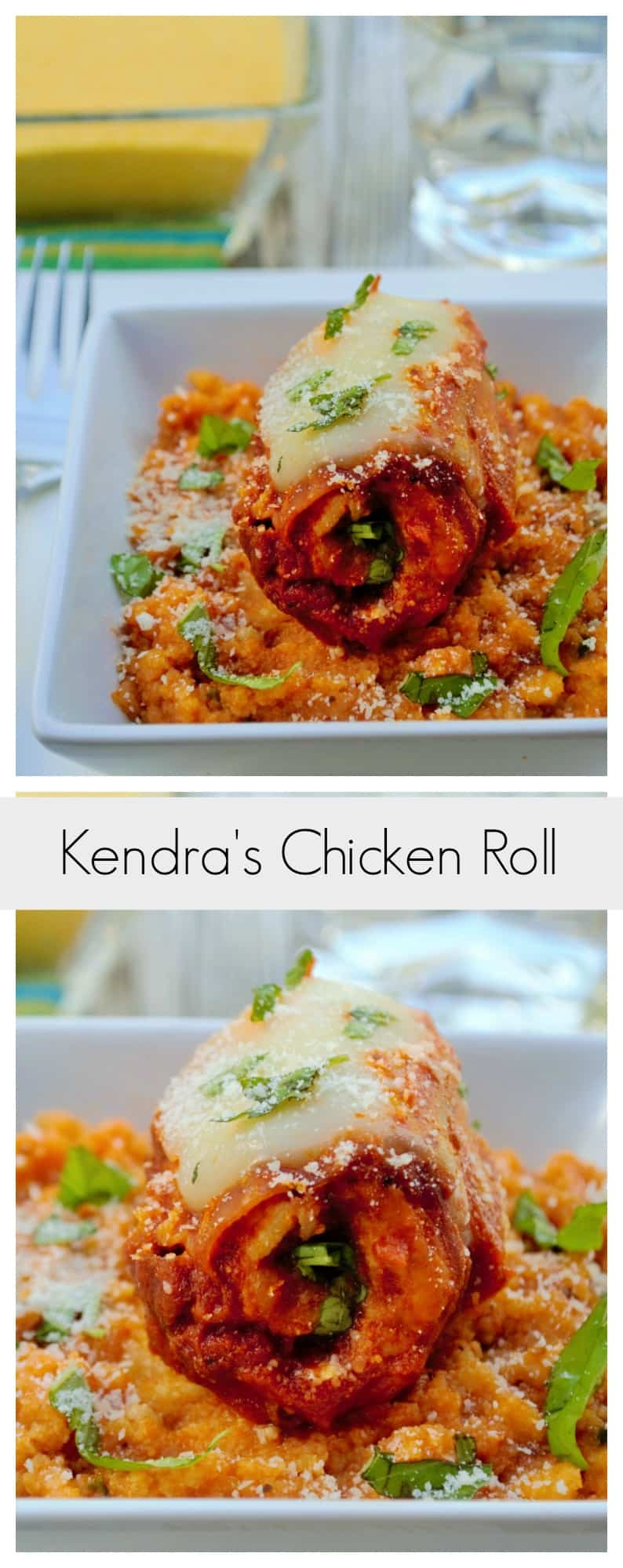 Italian Stuffed Chicken | This Tuscan inspired Italian Stuffed Chicken is easy, quick and amazing! Tender chicken paired perfectly with creamy polenta.. a perfect meal. | Pack Momma | https://www.packmomma.com