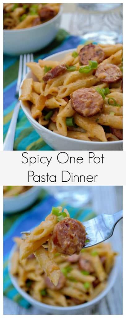 Spicy One Pot Pasta Dinner