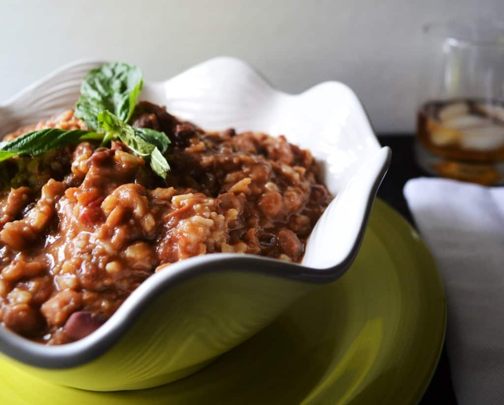 Cajun 15 Bean Soup | This spicy and hearty Cajun 15 Bean soup is the perfect slow cooker meal to treat your family with. | Pack Momma | https://www.packmomma.com