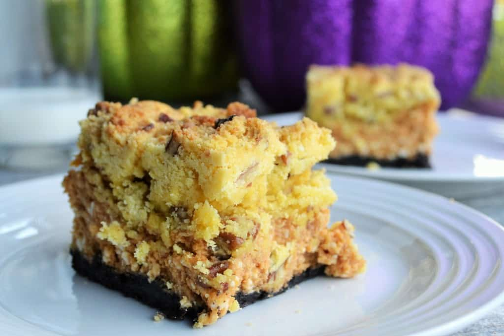 Pumpkin Cheese Crunch Bars