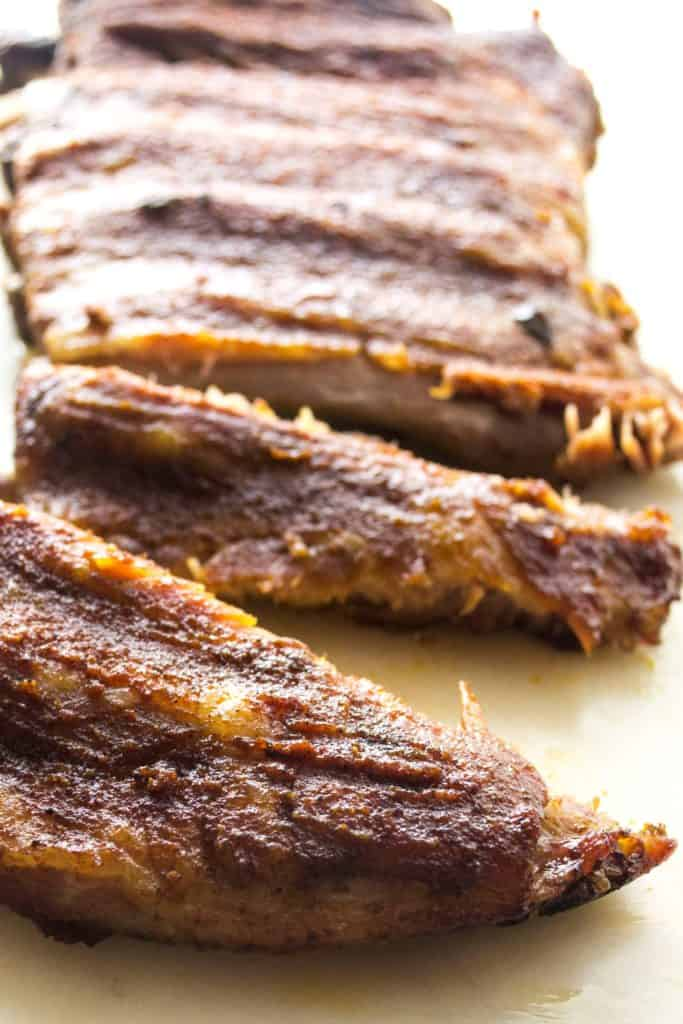 Slow Cooker Ribs - These Slow Cooker Ribs are moist, succulent and perfect! The best new way to cook ribs .. great juicy flavor and with half the work! | Pack Momma | https://www.packmomma.com
