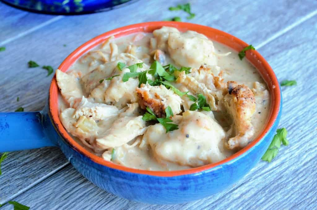 Easy Quick and Amazing Chicken and Dumplings
