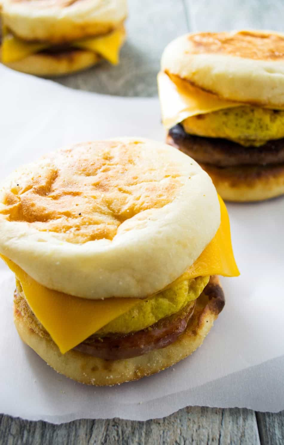 Make Ahead Freezer Breakfast Sandwich