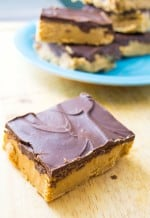 No Bake Chocolate Peanut Butter Bars - Pack Momma