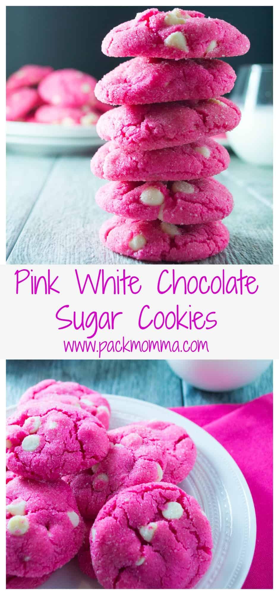 Pink Sugar Cookies | Pack Momma
