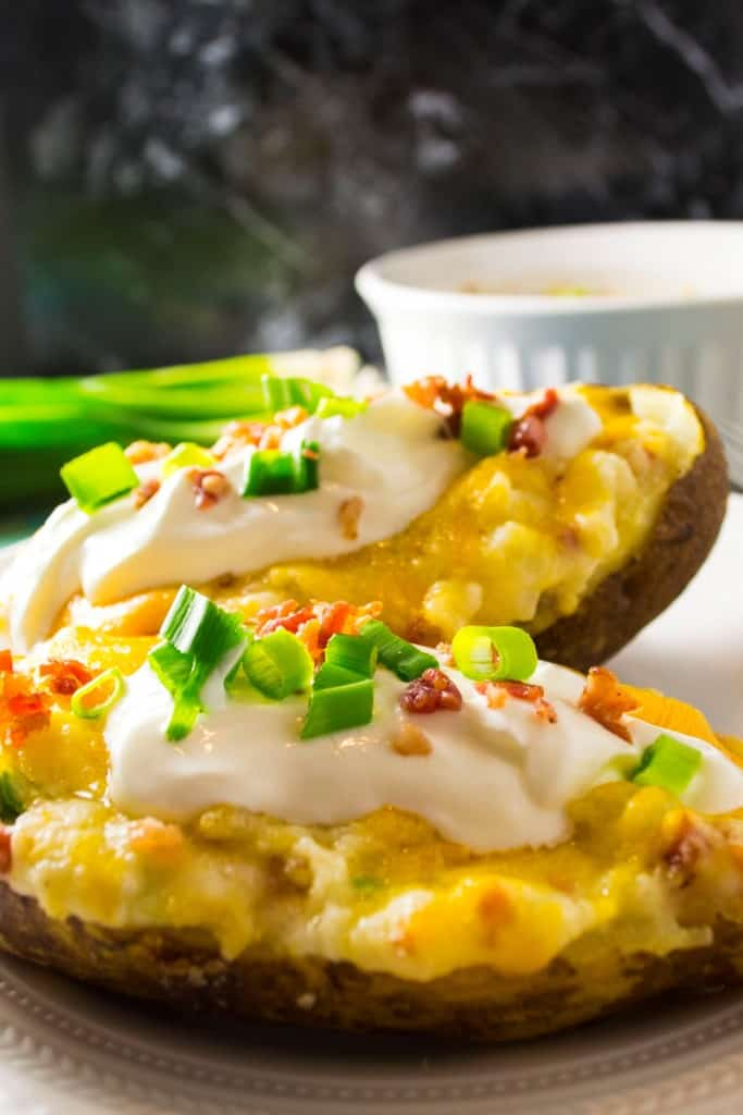 Twice Baked Potatoes - Pack Momma
