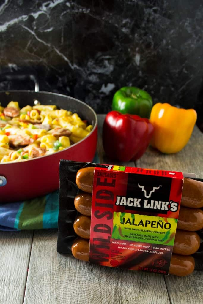 One Pot Jalapeno Sausage Pasta Skillet - Pack Momma