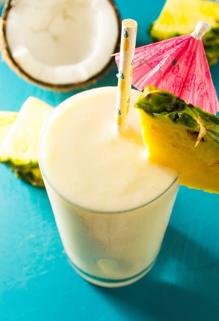 Coconut Pineapple Smoothie - Pack Momma