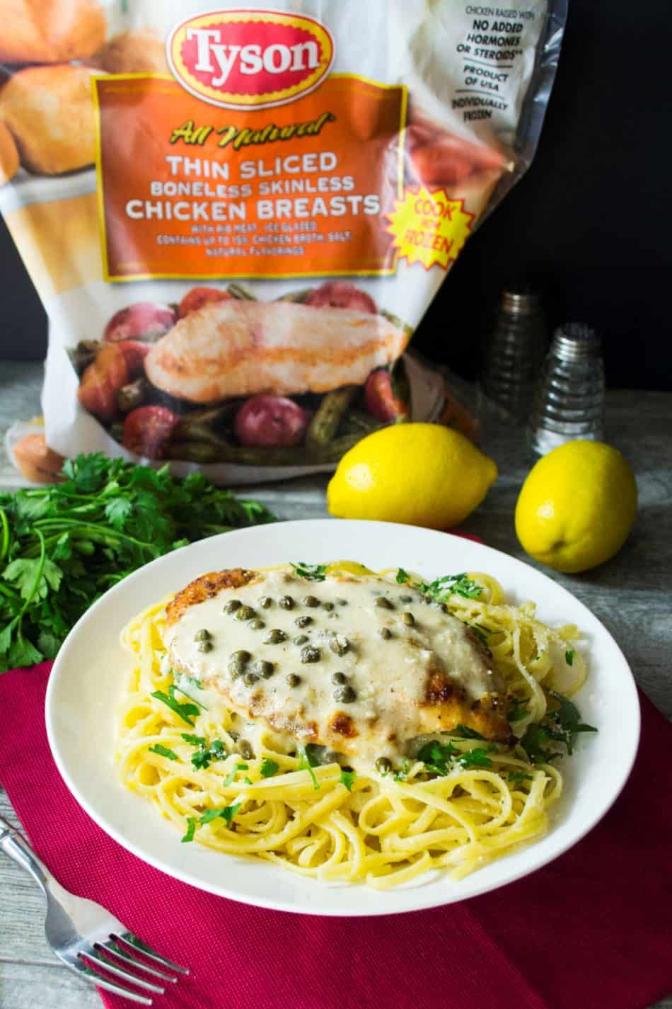 #Ad Easy 30 Minute Chicken Piccata