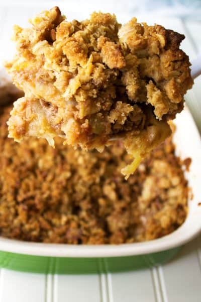 ... Easy Apple Crisp with Pears. Enjoy a new twist on a classic favorite