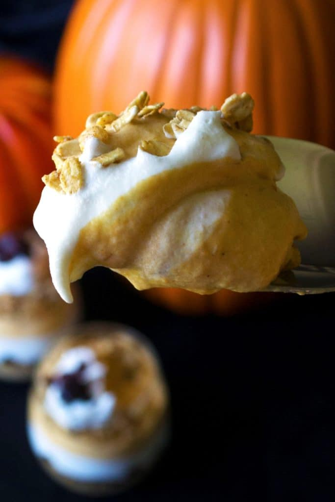 Pumpkin Cheesecake Mousse Parfaits | Satisfy your sweet tooth with ...