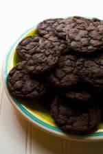 Soft Chocolate Sugar Cookies | These Soft Chocolate Sugar Cookies are rich with chocolate flavor and just the right amount of sweetness all packed in a perfect soft baked sugar cookie.| Pack Momma | www.packmomma.com