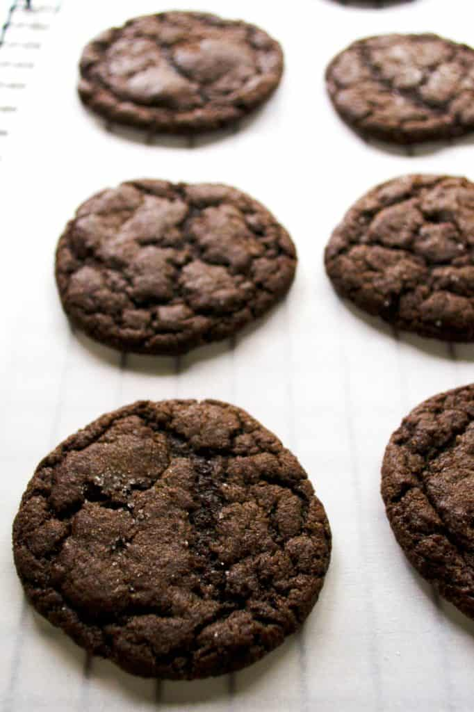 Soft Chocolate Sugar Cookies | These Soft Chocolate Sugar Cookies are rich with chocolate flavor and just the right amount of sweetness all packed in a perfect soft baked sugar cookie.| Pack Momma | https://www.packmomma.com