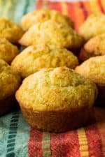 Honey Cornbread Muffins | These Honey Cornbread Muffins are super easy and super fast to make. They are moist and rich and the perfect complement to any of your favorite meals. | Pack Momma | https://www.packmomma.com