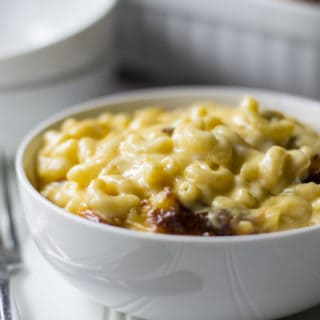 Creamy Macaroni and Cheese | This Creamy Macaroni and Cheese is the only mac and cheese recipe you will ever need. Rich, decadent and creamy, this is the perfect comfort food dish! | Pack Momma | https://www.packmomma.com