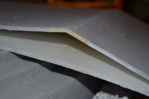 Warped Foam Board
