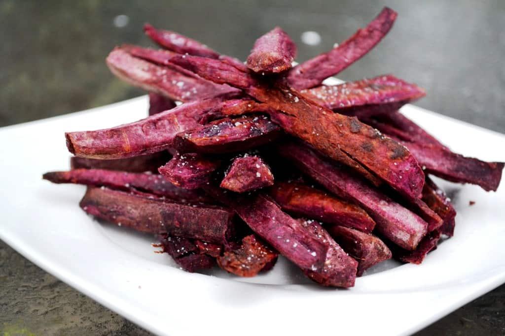 Purple Sweet Potato Fries