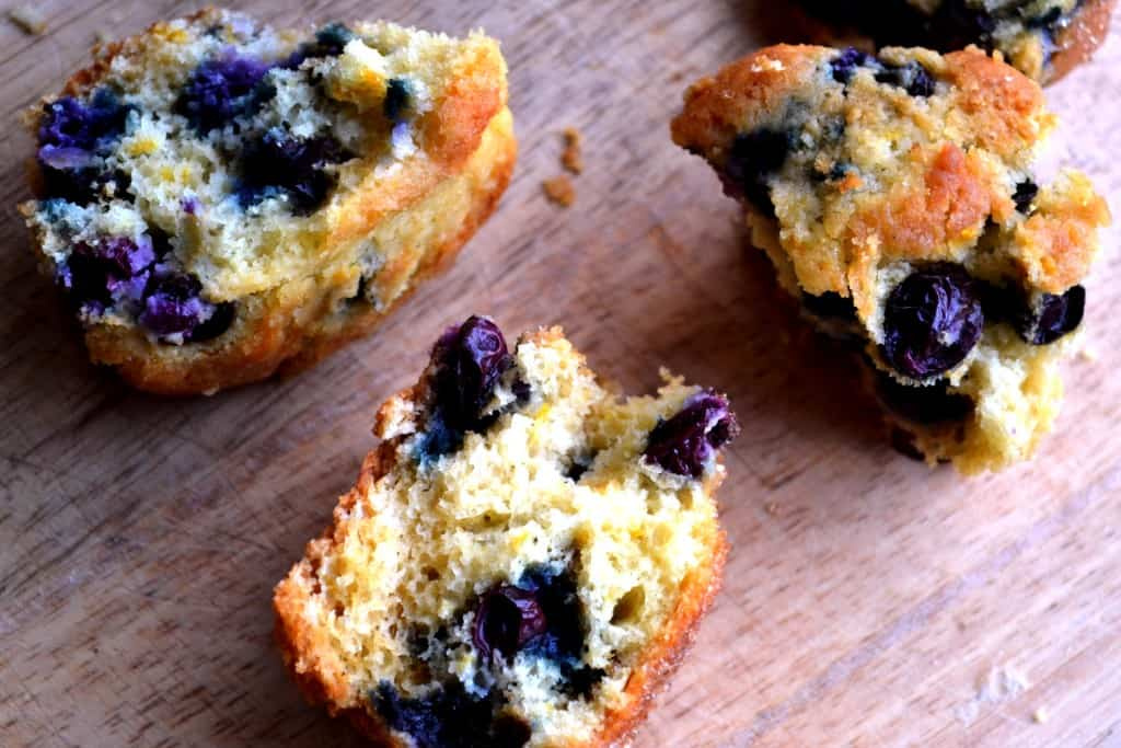 Blueberry Orange Muffins | Blueberry Orange Muffins are buttery, bursting with tangy orange flavor and are stock full of delicious blueberries. The best way to breakfast! | Pack Momma | www.packmomma.com