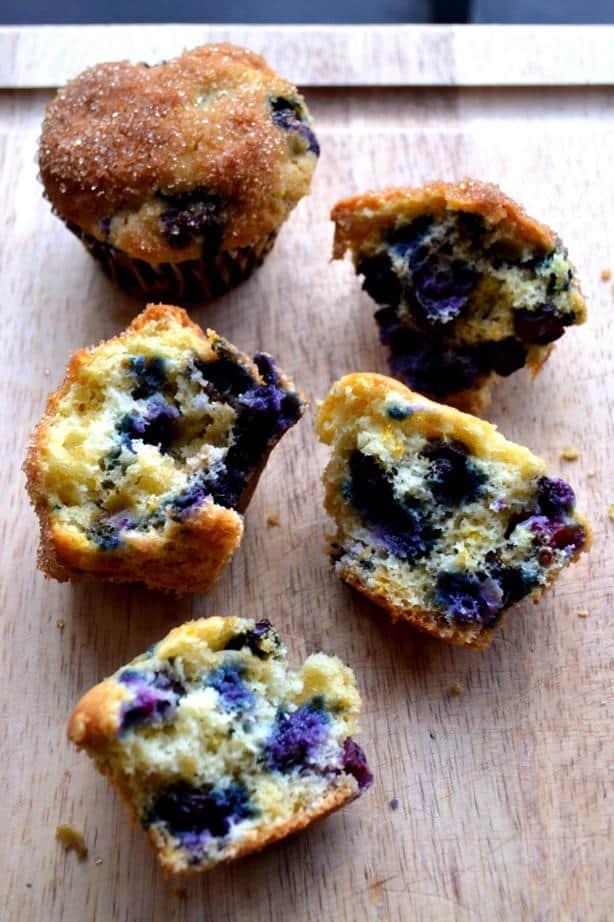 Blueberry Orange Muffins