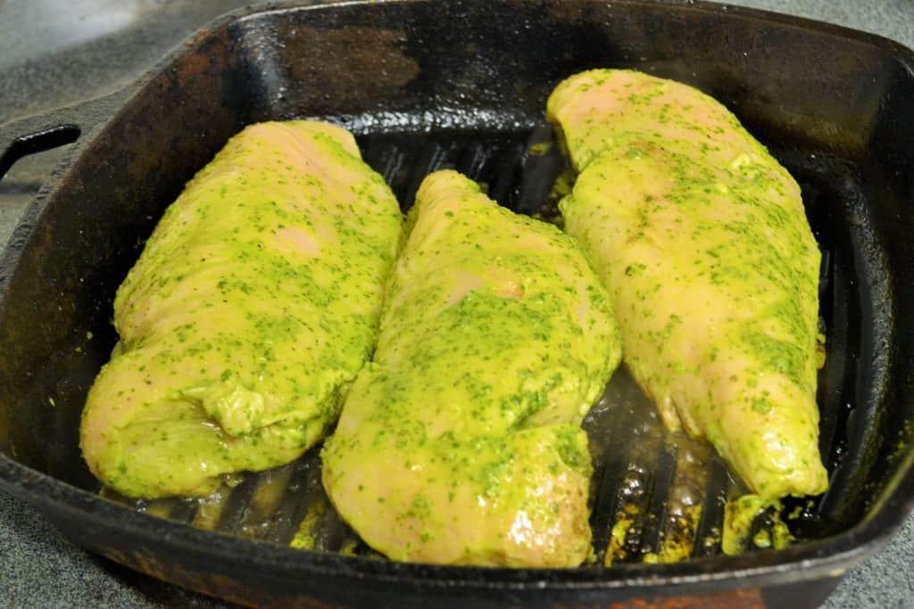 Lemon Basil Chicken