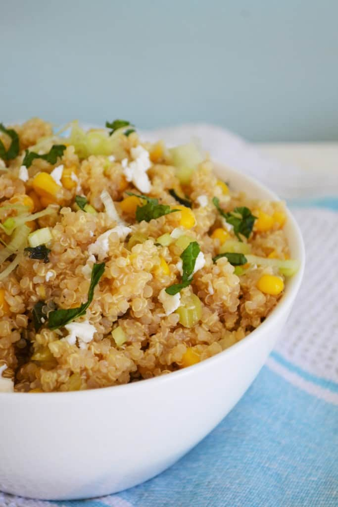 Lemon Mint Quinoa