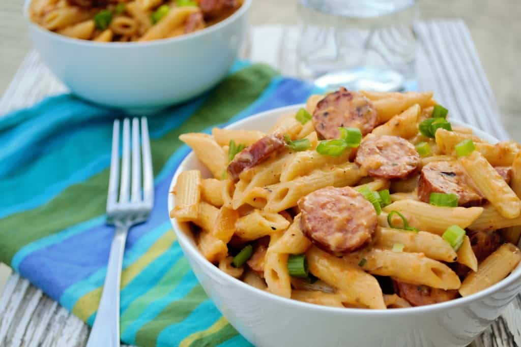 Spicy One Pot Pasta Dinner