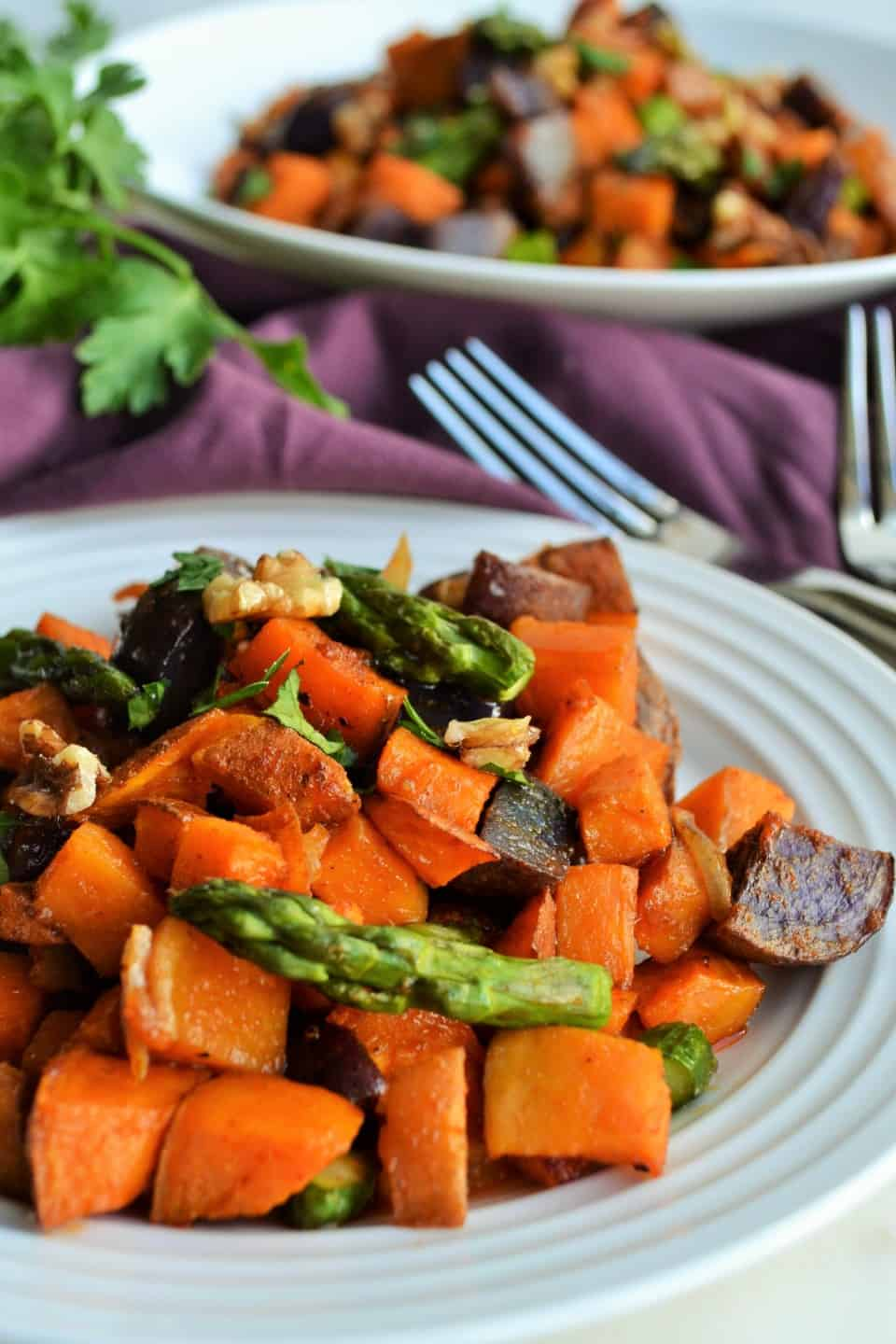 Spicy Sweet Potato Hash