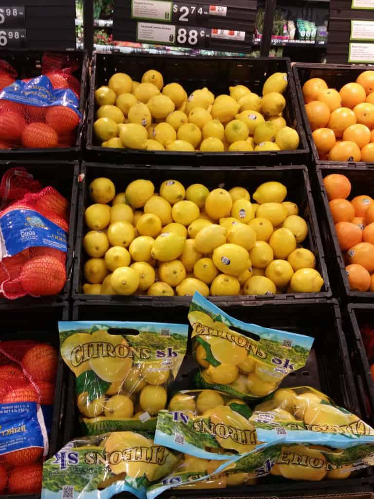 Fresh Walmart Lemons