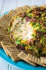 Bacon Jalapeno Cheese Ball   This Bacon Jalapeno Cheese Ball recipe is easy to make and always a party favorite. Bacon, jalapeno and cheese combined to make the perfect party food.   Pack Momma   https://www.packmomma.com