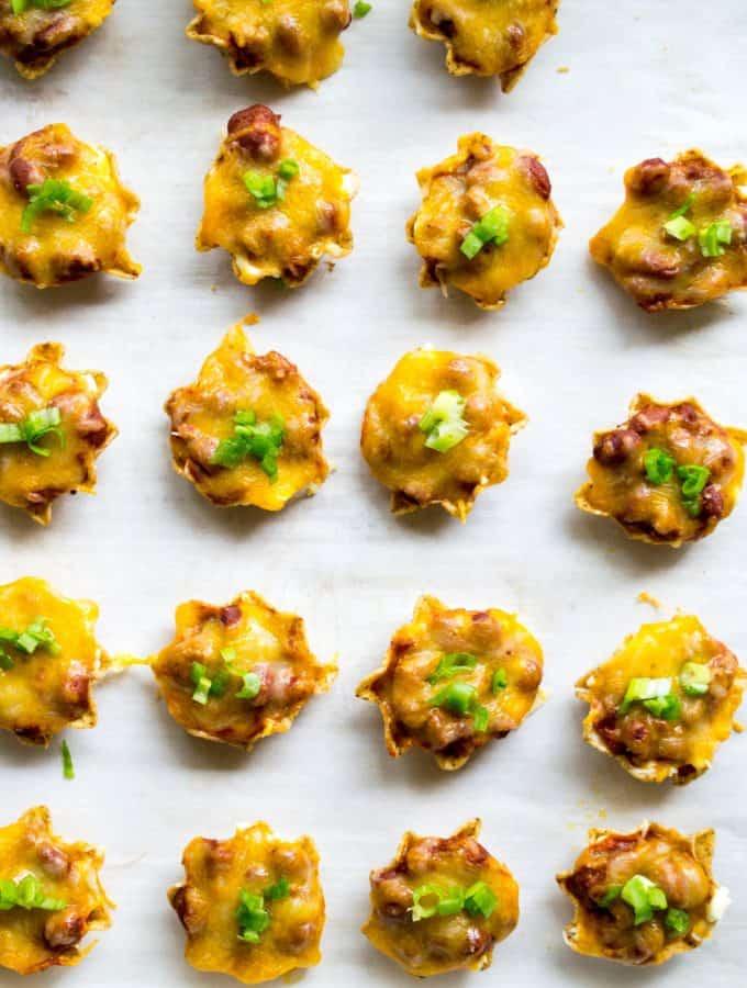 Chili Cheese Dip Bites