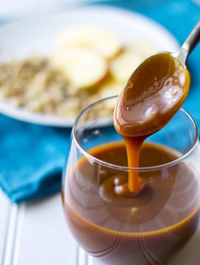 Bourbon Salted Caramel Sauce